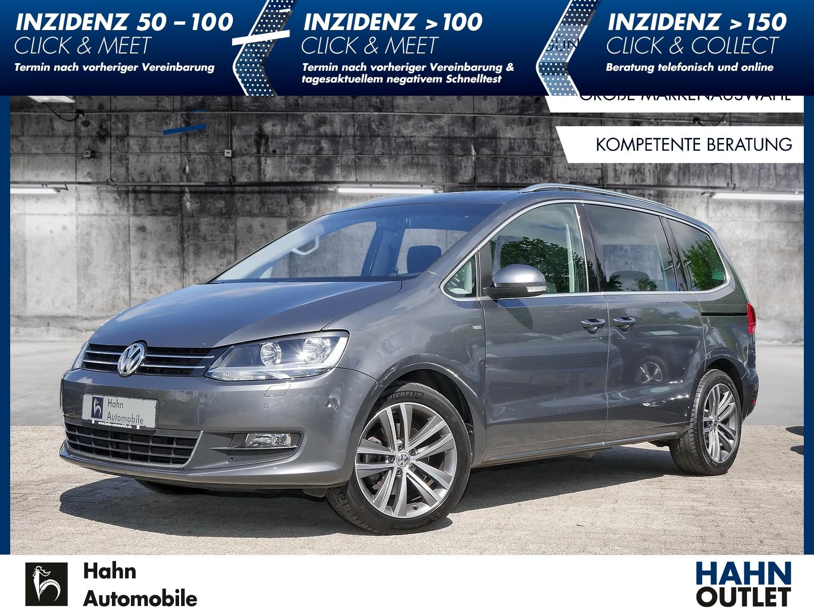 Volkswagen Sharan 2.0TDI Cup Pano Navi Cam Park Assist Easy Open, Jahr 2015, Diesel