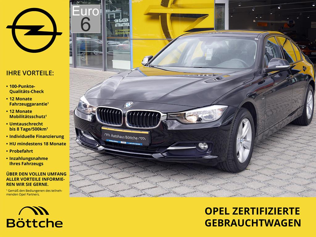 BMW 316, Jahr 2015, petrol