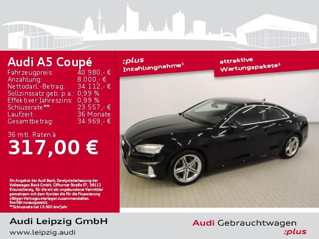 Audi A5 Coupe 40 TDI quattro advanced *S tronic*, Jahr 2020, Diesel