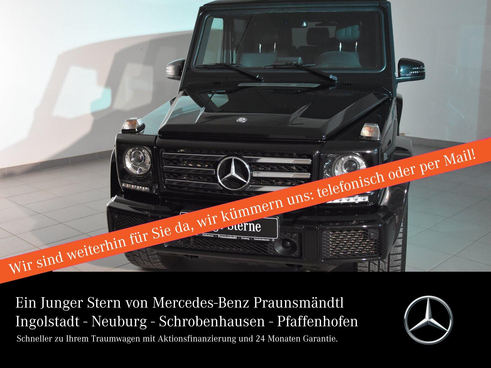 Mercedes-Benz G 500 Sport Exklu/Com/Stahzg/SSD/AHK/Distr/Sound, Jahr 2017, Benzin