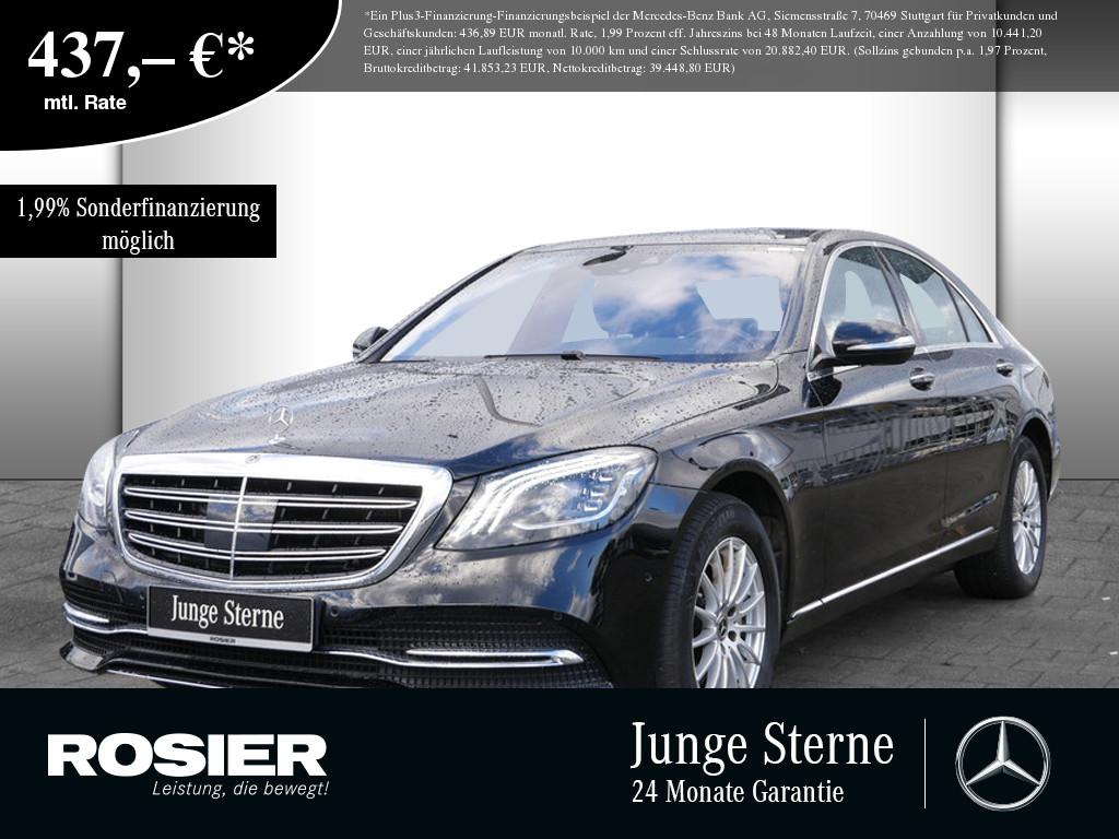 Mercedes-Benz S 350 d 4M, Jahr 2017, Diesel