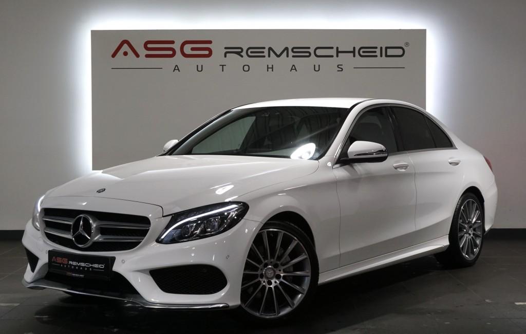 Mercedes-Benz C 220 D 9G-Tr. *AMG Line *1.Hand *LED *MwSt.*, Jahr 2016, Diesel