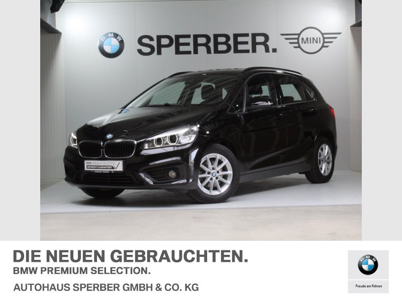 BMW 216d Active Tourer Advantage LED Navi Tempomat, Jahr 2017, diesel