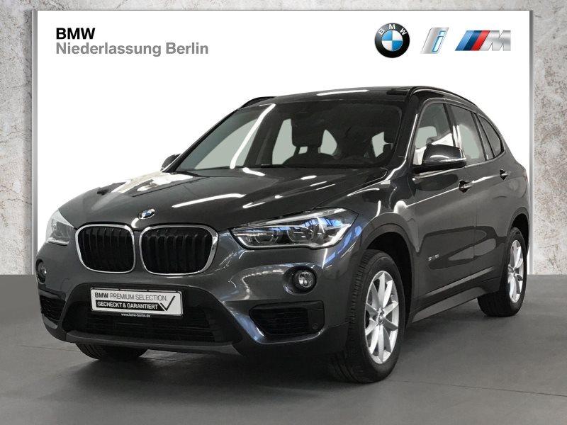 BMW X1 sDrive18i EU6 Aut. LED Navi Sportsitze GSD, Jahr 2017, Benzin