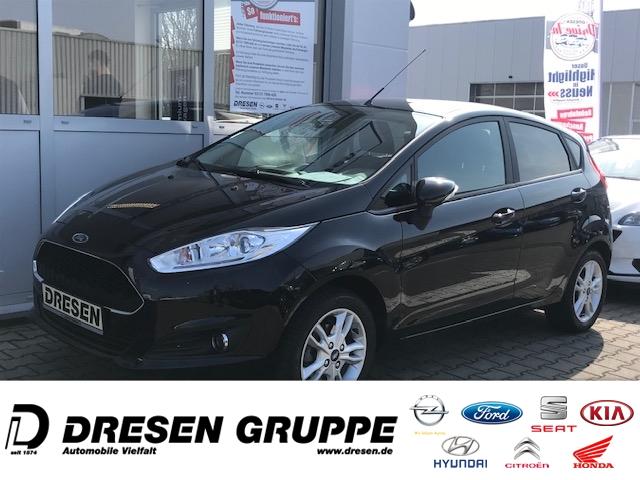 Ford Fiesta 1.0i-5türig+Navi+CELEBRATION/ZV+BC+ELFH PDCvo+hi/Lederlenkrad/IsoFix/RadioCD/Nebel-Lamp, Jahr 2017, Benzin