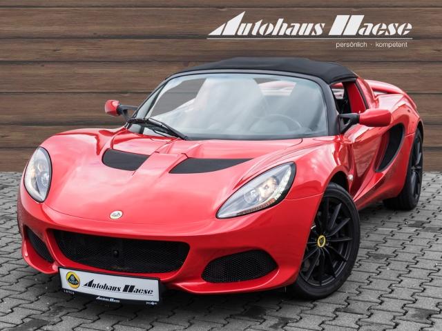Lotus Elise Sport 220 SOLID RED Interieur Farbpaket, Klima,, Jahr 2017, Benzin