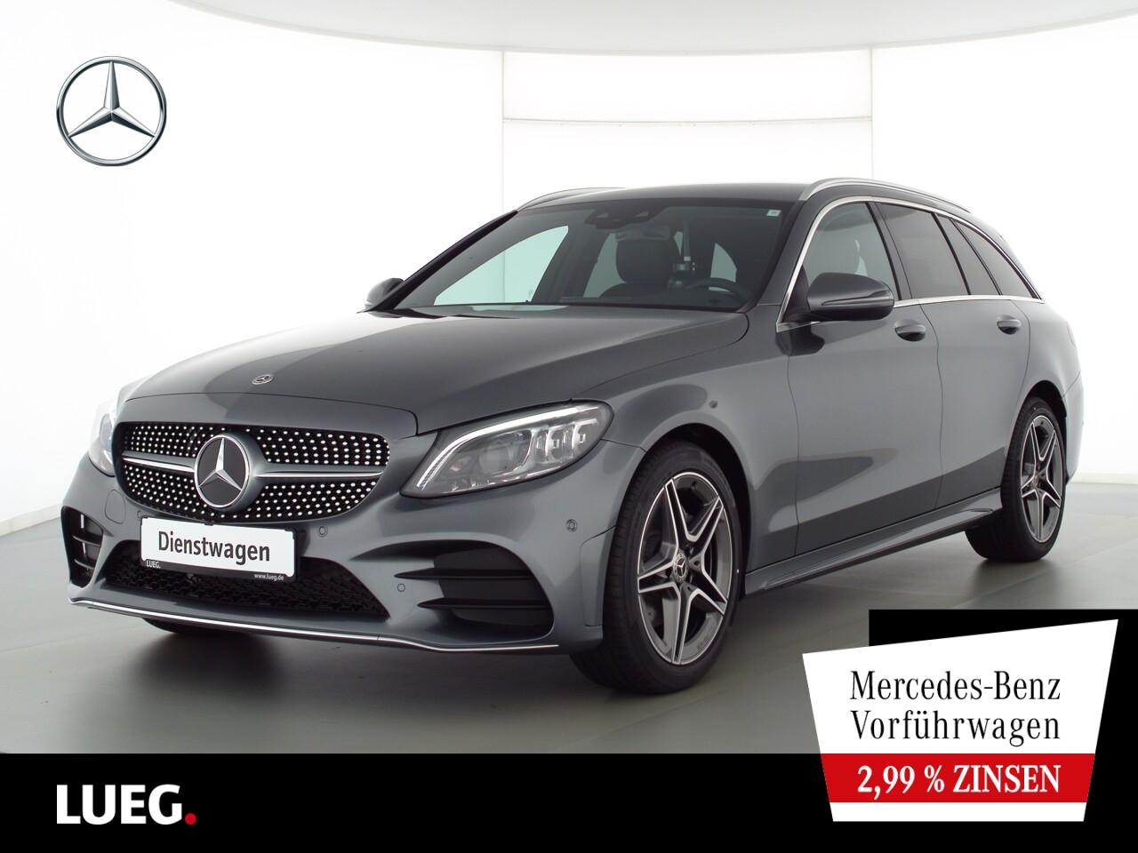Mercedes-Benz C 180 T AMG+MULTIBEAM+TOTW.+KAMERA+DAB+PTS+SHZ, Jahr 2021, Benzin