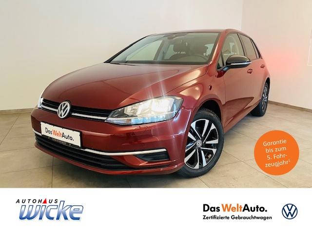 Volkswagen Golf VII 1.0 TSI IQ.DRIVE ACC Navi Klimaauto SHZ, Jahr 2019, Benzin