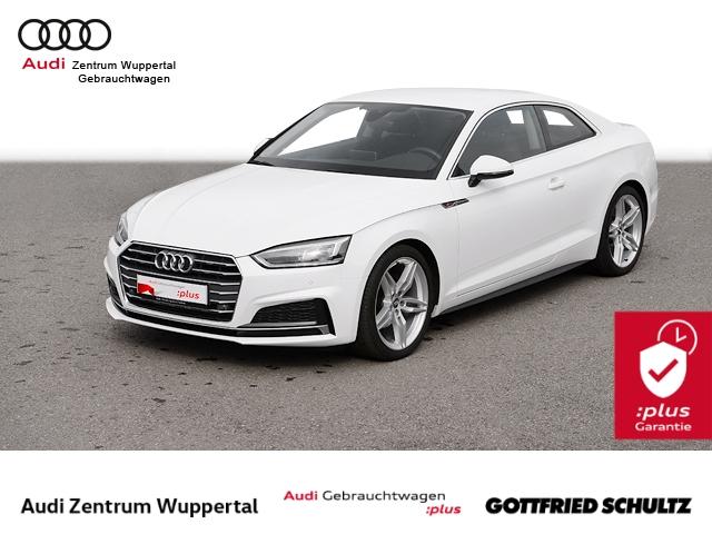 Audi A5 Coupe 2.0TFSI 2X S-LINE VIRTUAL AHK LED NAV PDC VO HI FSE 19ZOLL Sport, Jahr 2018, Benzin