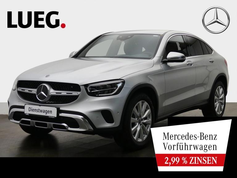 Mercedes-Benz GLC 220 d 4M Coupé AHK+19''+MBUX+LED+KAMERA+PTS, Jahr 2020, Diesel