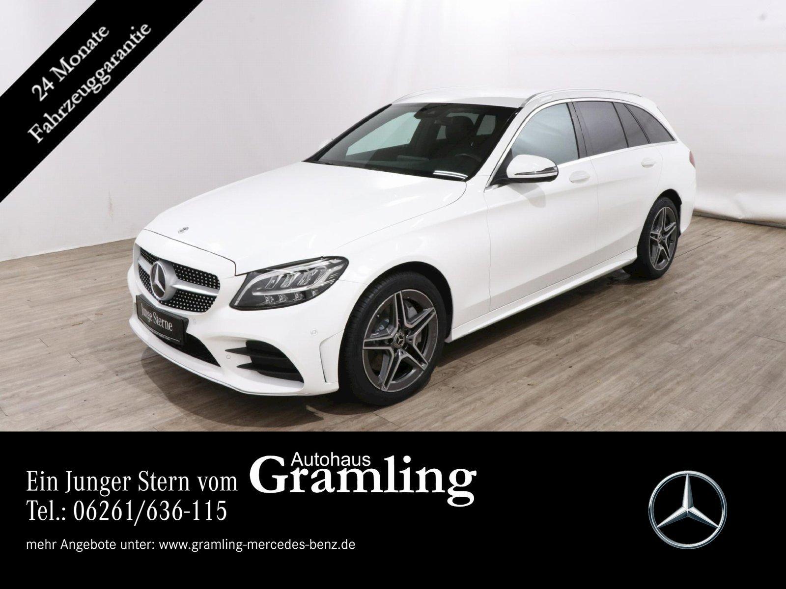 Mercedes-Benz C 300 dT AMG Leder*Navi*LED*Kamera*AHK*Sitzklima, Jahr 2019, Diesel