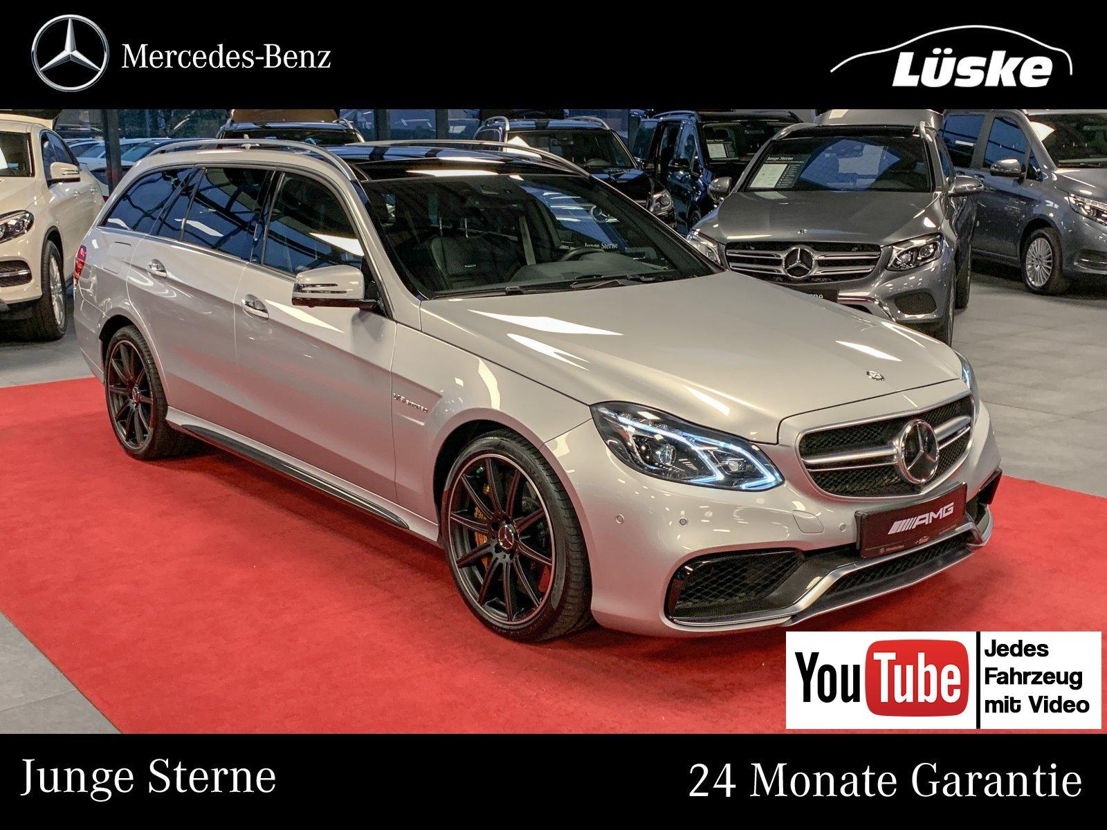 Mercedes-Benz E 63 AMG S 4M T Keramik DriverŽs Package 160.281, Jahr 2017, Benzin