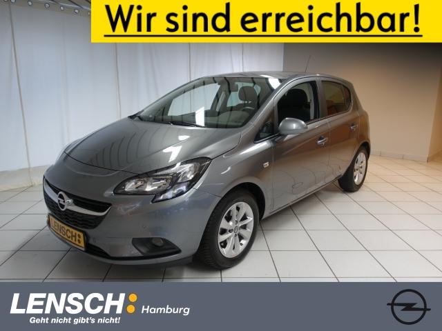 Opel Corsa E 1.4 S/S 5T ON RFK+PDC+SITZHZ+HZB.WSS+AWR, Jahr 2018, Benzin