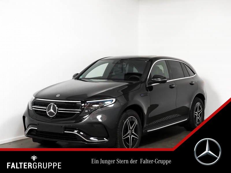 Mercedes-Benz EQC 400 80.652,-AMG 360°GSD Trittbretter Totwin, Jahr 2020, Elektro