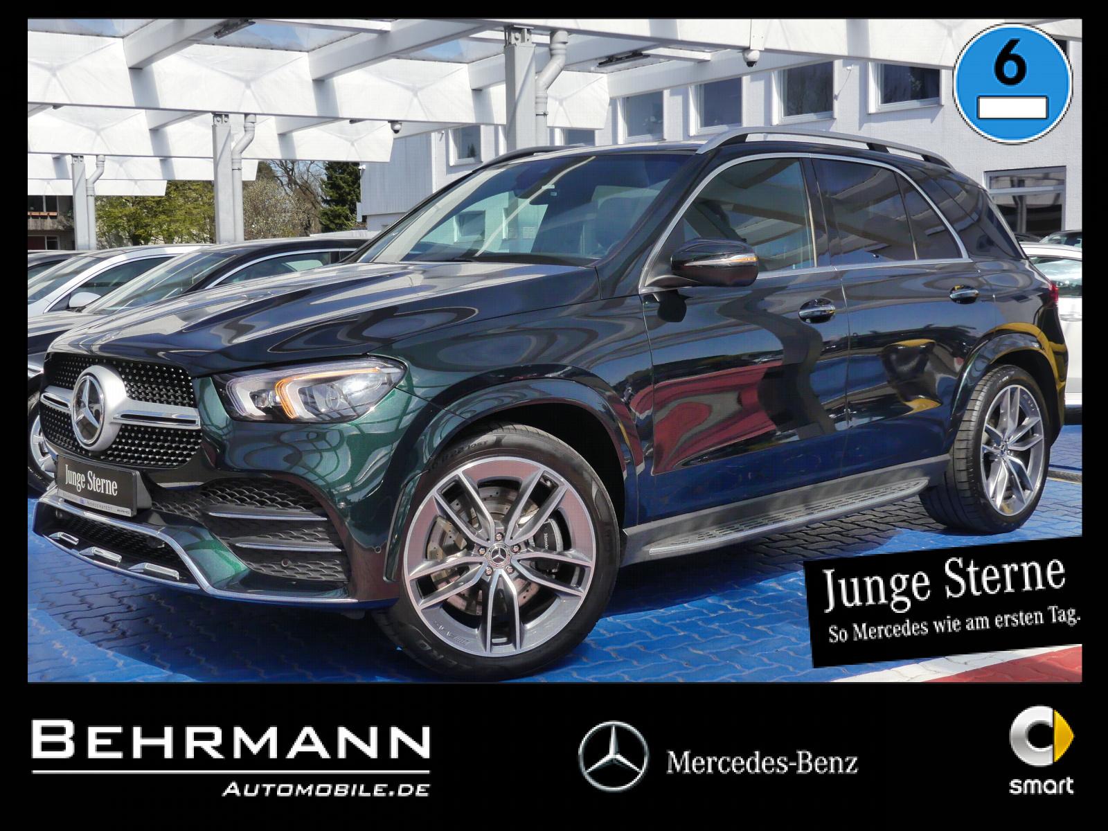 Mercedes-Benz GLE 450 AMG 4M Panorama+AHK+360°Kamera+Burmester, Jahr 2020, Benzin