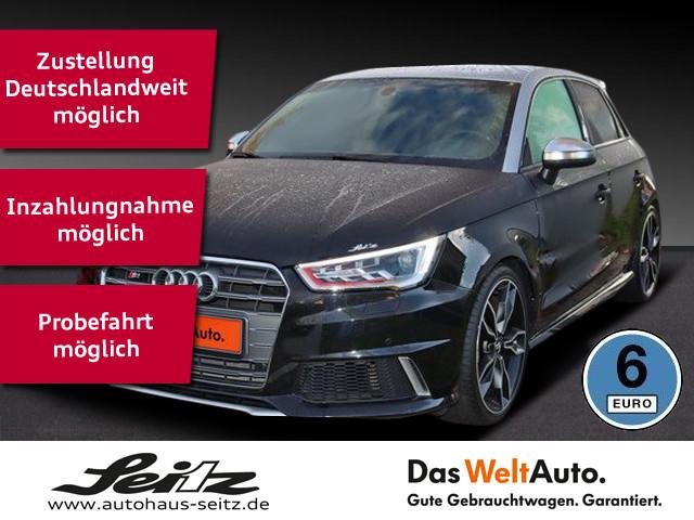 Audi S1 Sportback 2.0 TFSI quattro Edition PDC,Leder,SHZ,Navi, Jahr 2018, Benzin