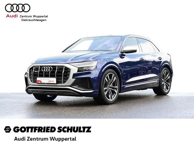 Audi SQ8 4.0TFSI QUAT. PANO VIRTUAL ACC LANE B&O STANDHZG AHK KAMERA DAB CONNECT NAV GRA SHZ PDC V, Jahr 2021, Benzin