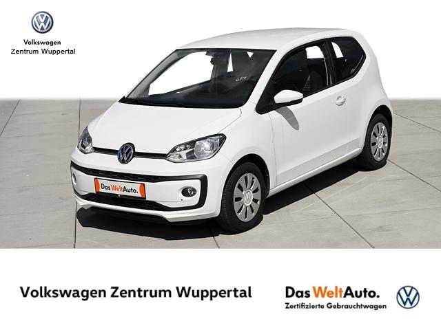 Volkswagen up! 1 0 move KLIMA SHZ BT ZV E-FENSTER, Jahr 2018, Benzin