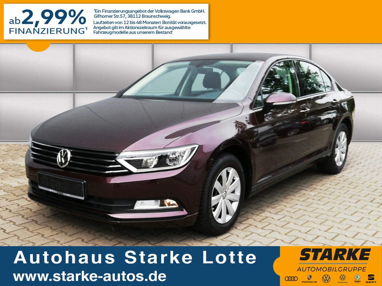 Volkswagen Passat 1.4 TSI Trendline, Jahr 2016, Benzin