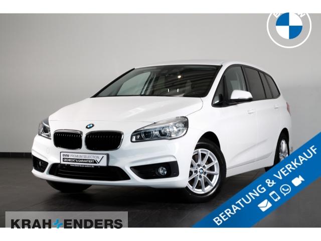 BMW 218 Gran Tourer d Advantage+LED+Navi+PDCv+h+SHZ, Jahr 2018, Diesel
