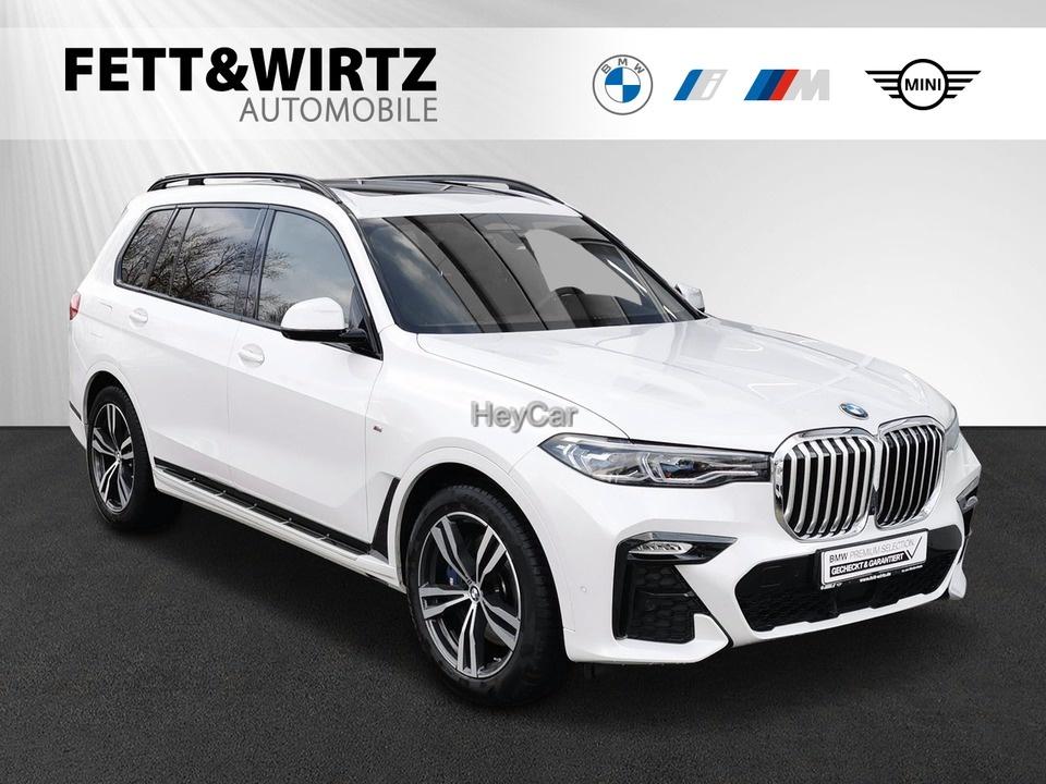 BMW X7 xDrive40i M-Sport Laser Pano H/K Standhzg AHK, Jahr 2020, Benzin