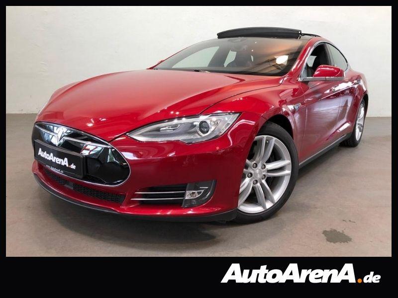 Tesla Model S 90D **Navi/Allrad/Pano/Autopilot, Jahr 2015, Elektro
