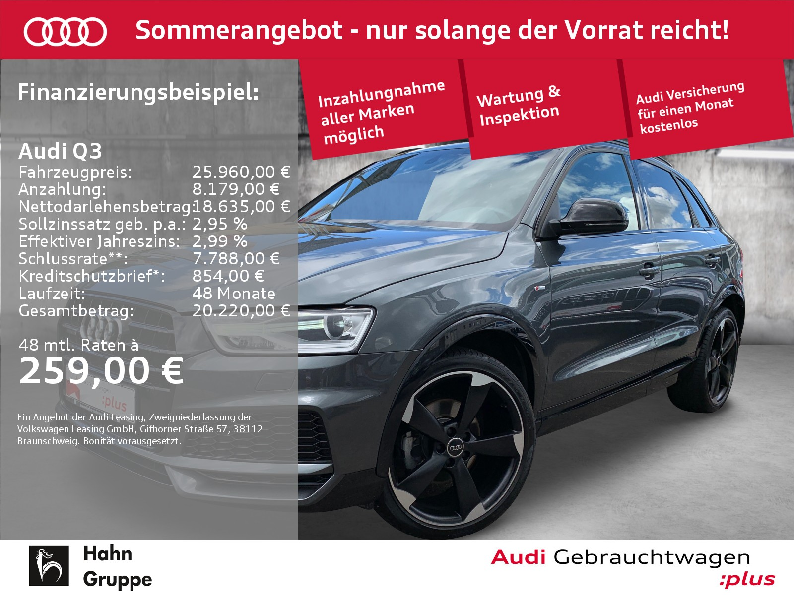 Audi Q3 2.0 TDI qua. S-line Navi Xen Sitzh Einpark, Jahr 2018, Diesel