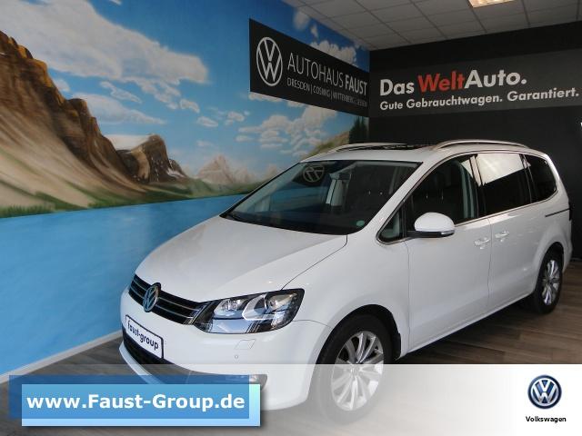 Volkswagen Sharan Highline DSG Standhzg. UPE 59000 EUR NAVI, Jahr 2016, Diesel