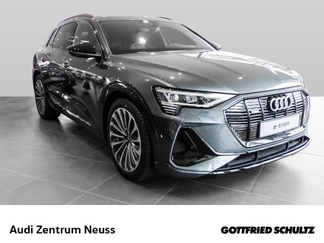 Audi e-tron 55 quattro s-line Leder LED Navi Keyless Kurvenlicht e-Sitze HUD ACC Nachtsichtass. SUV5 S line RS 2928 A, Jahr 2020, Elektro