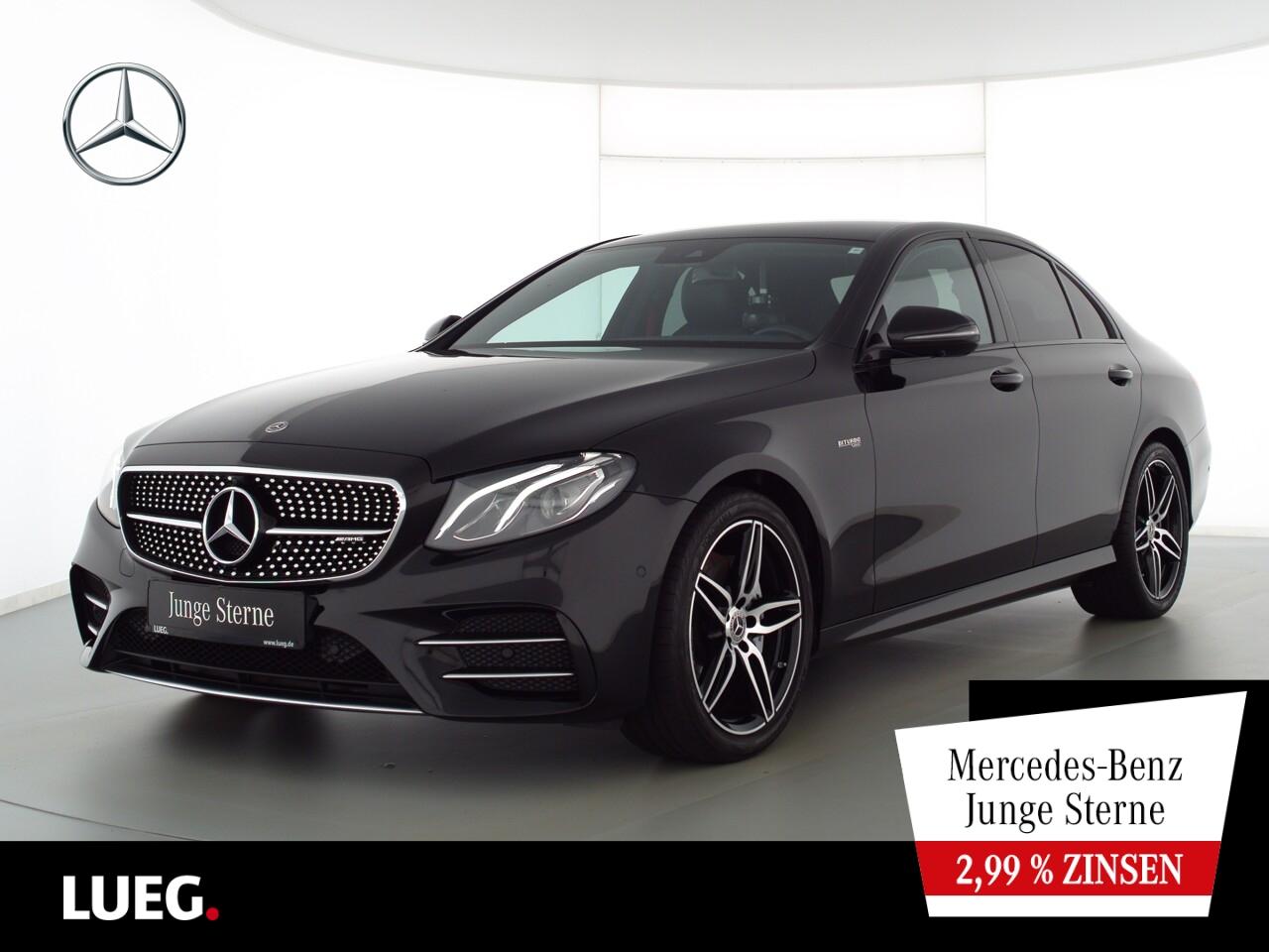 Mercedes-Benz E 43 AMG 4M COM+LED-HP+Widesc+19''+RIDEContFW+36, Jahr 2018, Benzin