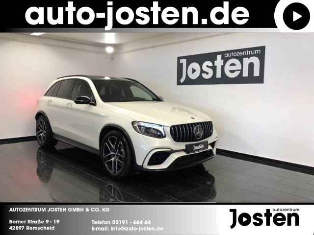 Mercedes-Benz GLC 63 AMG NightP. HUD PANO AHK Assist.PaketPlus, Jahr 2018, Benzin