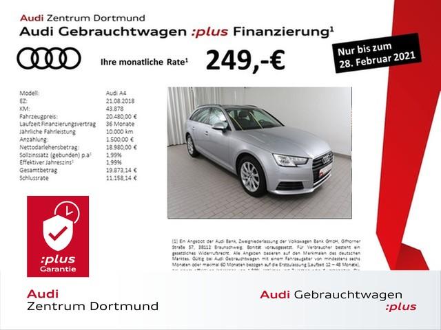 Audi A4 Avant 2.0TDI Navi/Xenon/GRA/APS+, Jahr 2018, Diesel