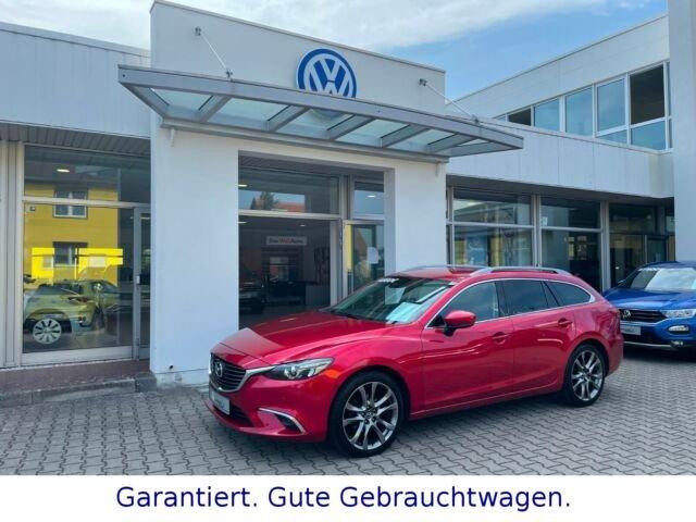 Mazda 6 2.2 SKYACTIV-D 175 Sports-L. AT AHK LED BOSE, Jahr 2017, Diesel