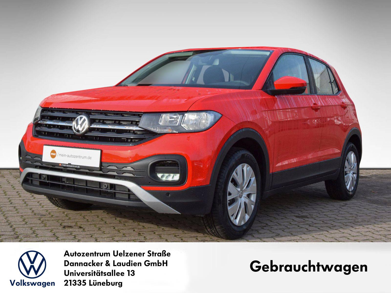 Volkswagen T-Cross 1.0 TSI Klima PDC Comp.Media FrontAssist, Jahr 2020, Benzin