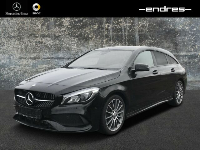 Mercedes-Benz CLA 250 Shooting Brake NAVI+AMG-LINE+NIGHT-PAKET, Jahr 2016, Benzin