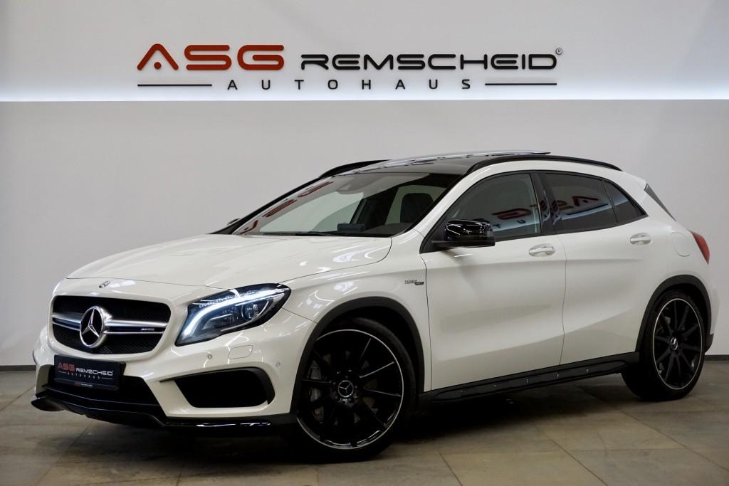 Mercedes-Benz GLA 45 AMG 4M *Sport-AbGas *HK *Night *Kam*, Jahr 2017, Benzin