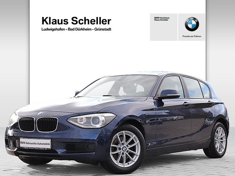 BMW 120d 5-Türer Xenon Navi Bus. Tempomat USB Klima, Jahr 2013, Diesel