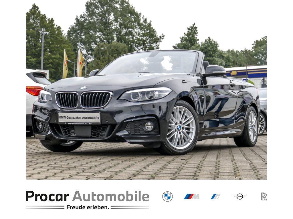 BMW 220d Cabrio M Sport RFK Navi Prof. HiFi ACC, Jahr 2018, Diesel