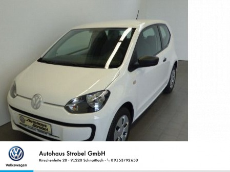Volkswagen up! 1.0 take up! CD-Player/MP3 AUX-IN Isofix Tagfahrl. Klima, Jahr 2013, petrol