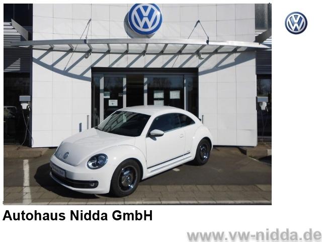 Volkswagen Beetle Design 1,2 77KW-105PS, Sondermodell 'Cup', Jahr 2014, Benzin