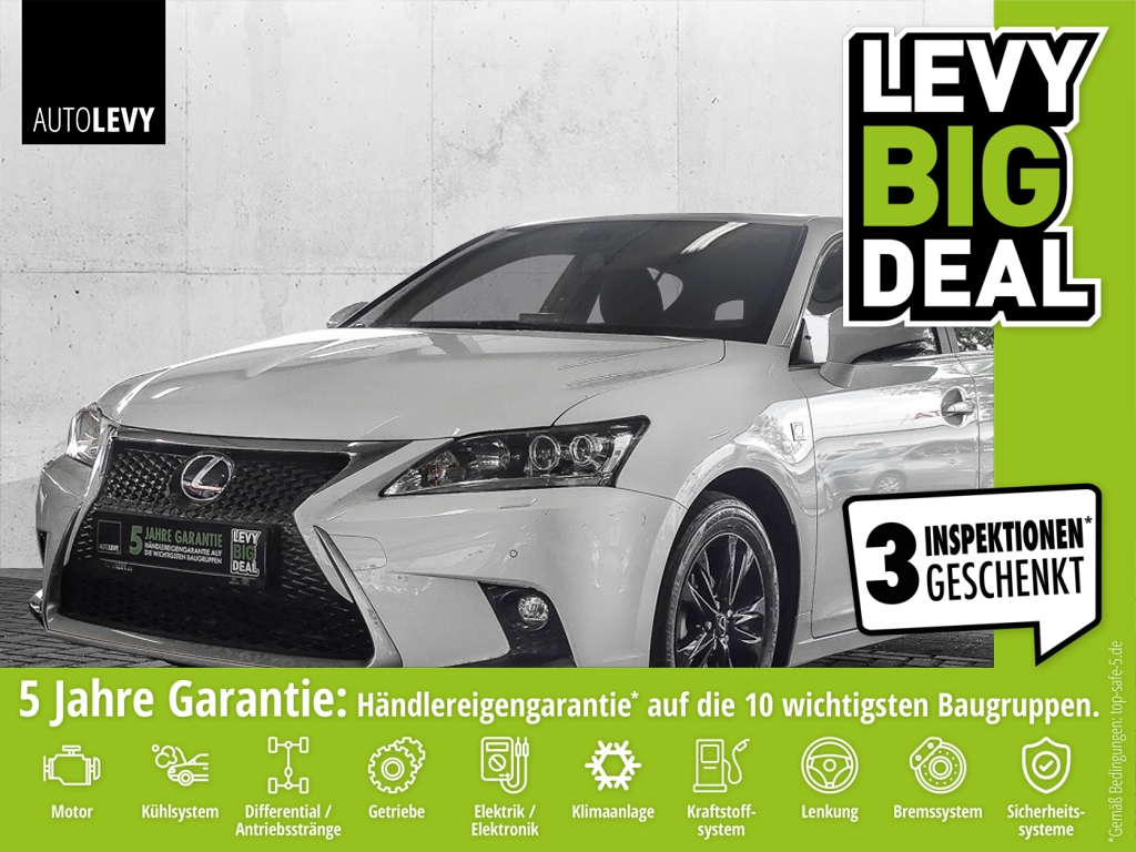 Lexus CT 200h F-Sport *Navi*LED*Leder, Jahr 2014, Hybrid