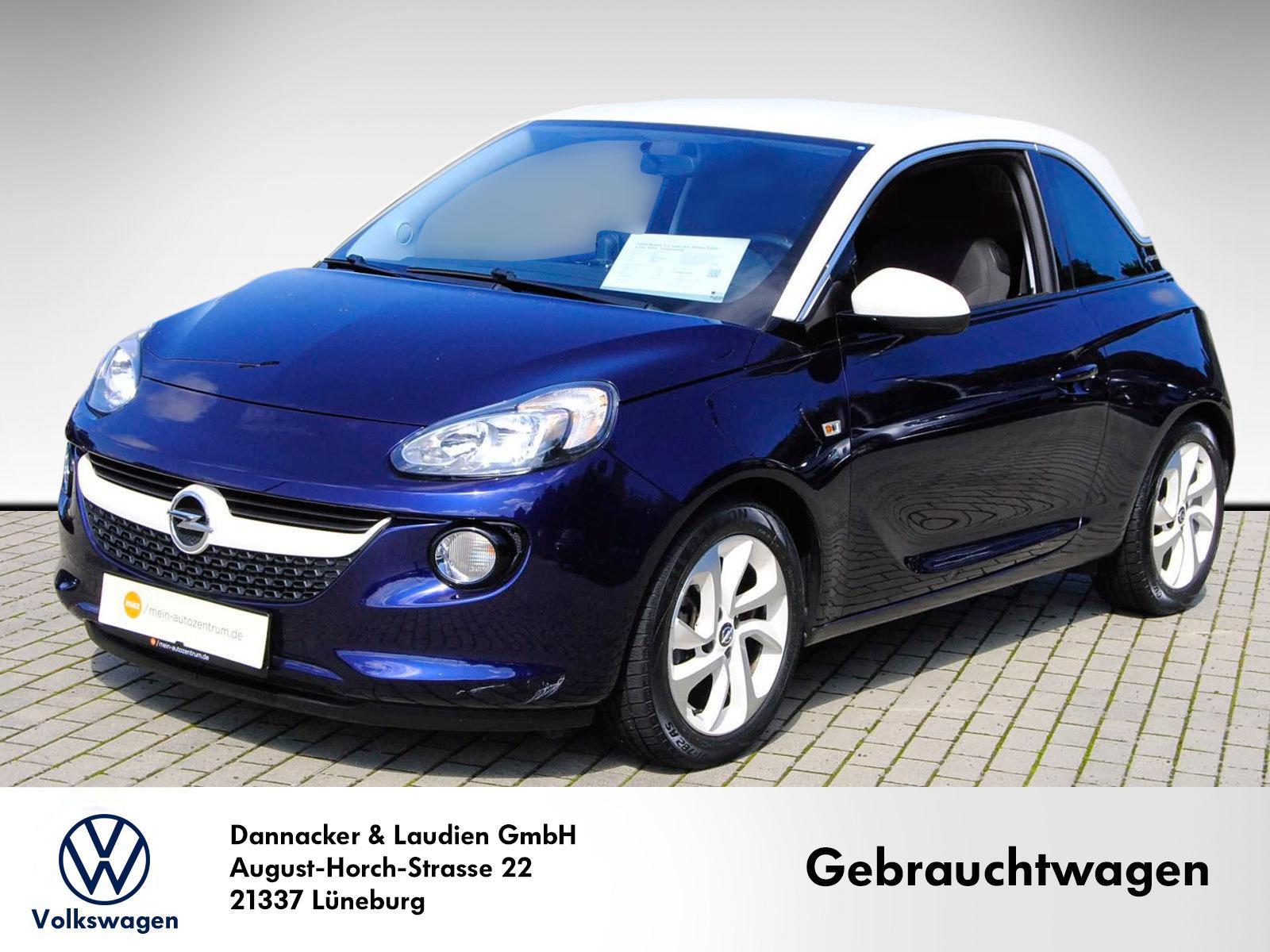 Opel Adam 1.2 Jam Alu Klima Sitzh. 1.Hd. PDC Tempomat, Jahr 2017, Benzin