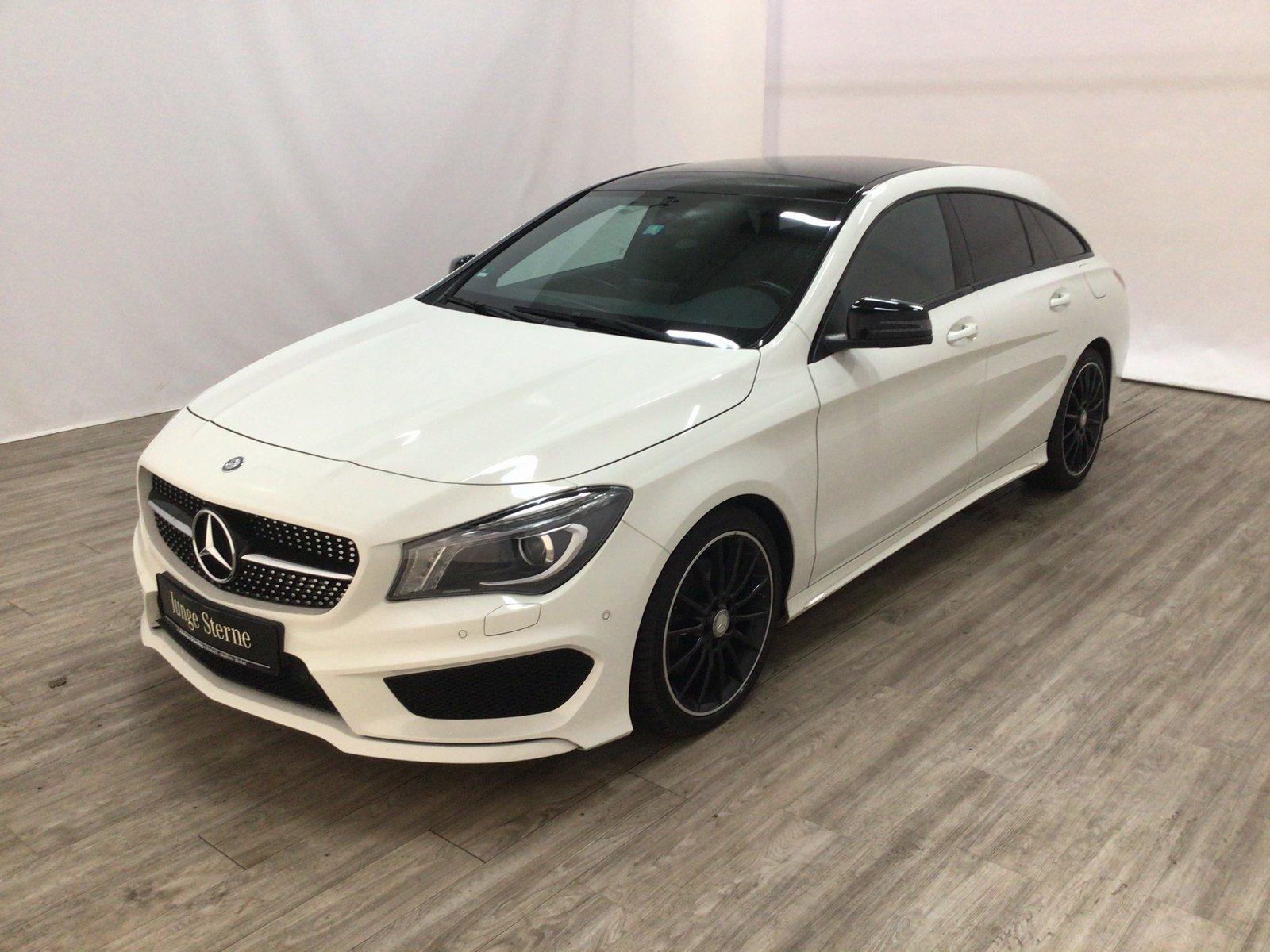 Mercedes-Benz CLA 220 d SB AMG*NIGHT*Leder*Bi-Xenon*Pano*Navi*, Jahr 2015, Diesel