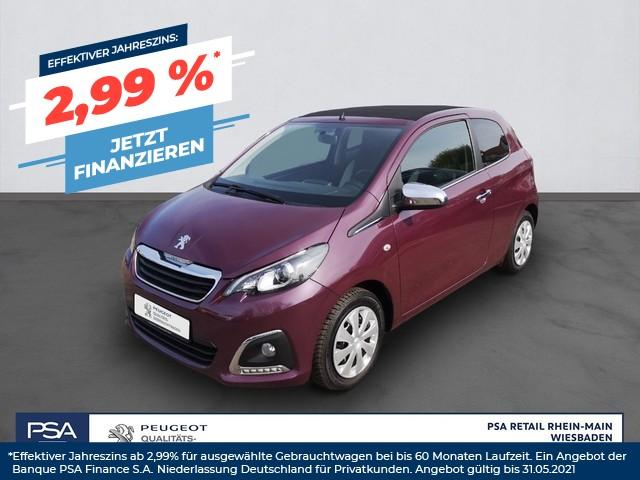 Peugeot 108 PT 82 Top! Allure *Klimaautom*Sitzheizung*, Jahr 2016, Benzin