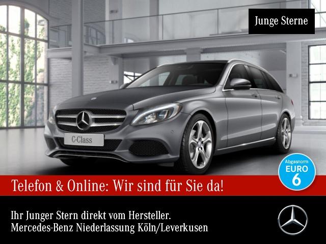 Mercedes-Benz C 180 T Avantgarde Stdhzg Burmester COMAND LED PTS, Jahr 2016, Benzin