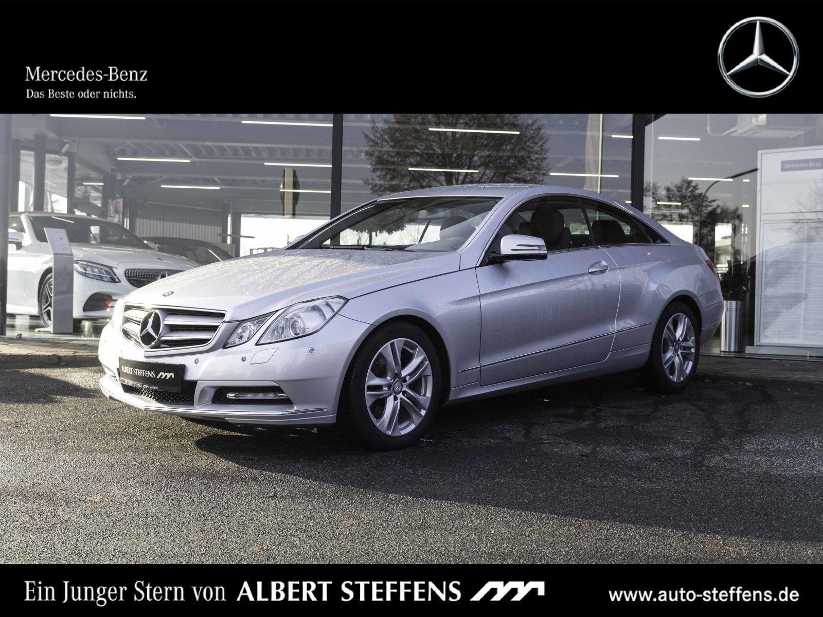 Mercedes-Benz E 300 BlueEFFICIENCY Coupé Autom./Park-Assist., Jahr 2012, petrol
