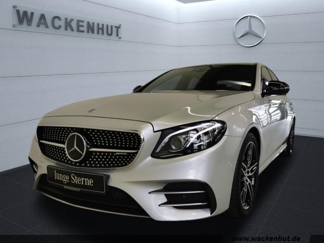 Mercedes-Benz E 43 AMG 4M DISTR+PANO+BUSI+HUD+WIDE+MULTIB+360°, Jahr 2017, Benzin