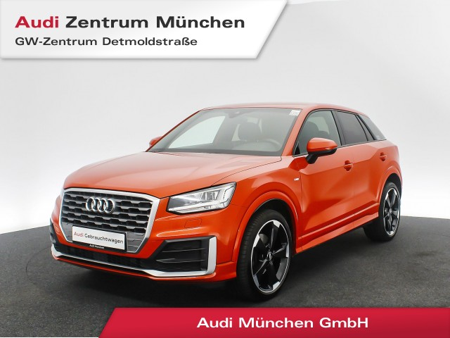 "Audi Q2 1.6 TDI Sport S line 19"" B&O Assistenz HUD Virtual LED Navi 6-Gang, Jahr 2017, diesel"