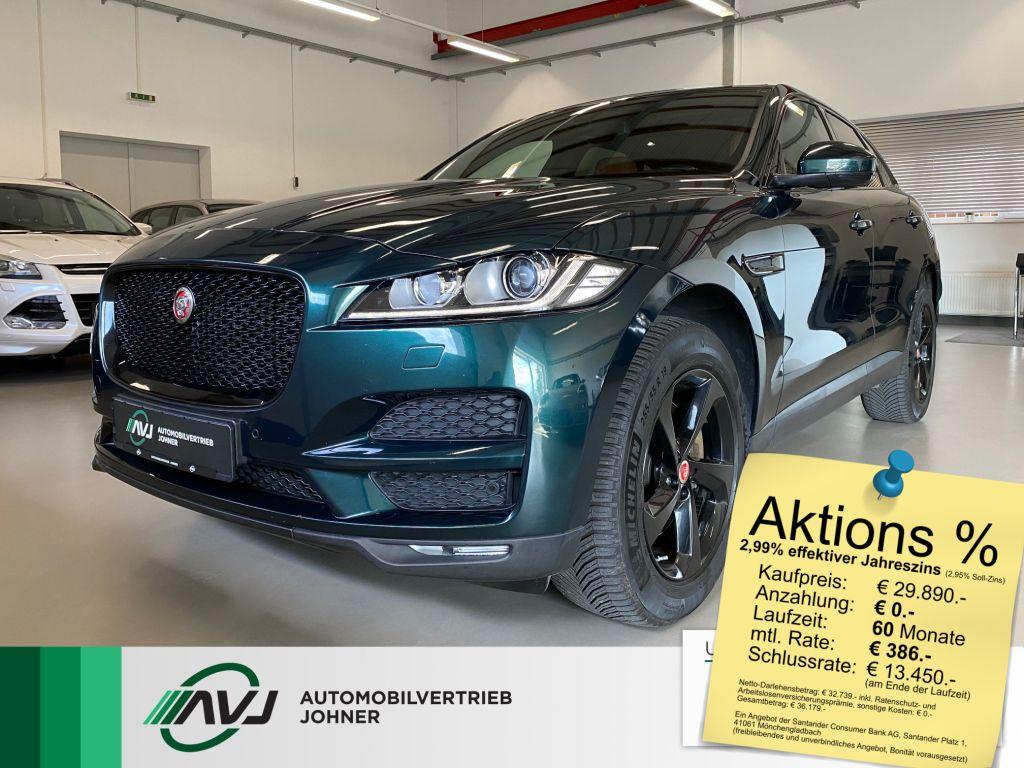 Jaguar F-Pace 30d AWD Portfolio   AHK   RFK   Scheckh., Jahr 2016, Diesel
