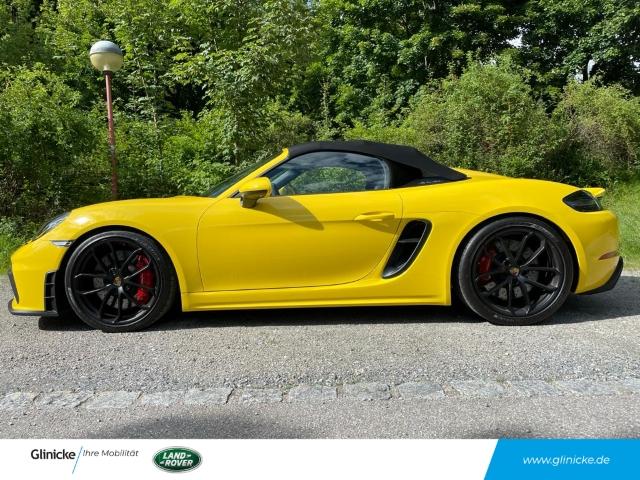Porsche 718 Spyder Boxster 4.0 EU6d-T SportabGasanlage, Jahr 2020, Benzin